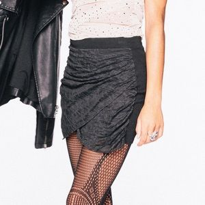Topshop Drape Skirt